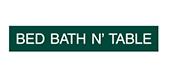 Bed Bath N' Table
